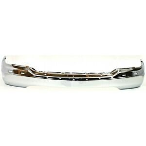 Front Bumper For 99 2002 Gmc Sierra 1500 2000 2006 Yukon Chrome Steel