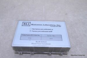 Bli Biotronex Laboratory Inc Blue Scale Blood Flow Transducer Probe