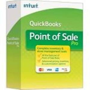 Intuit Quickbooks Point Of Sale Pro 2013 V11 2 user New Unregistered Download