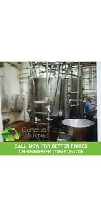 1000 Gallon Paul Mueller Mixing Processing Tank Jacketed Call Now need To Sell