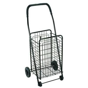 Folding Shopping Cart Grocery Holder Portable Basket Storage Laundry Carrier