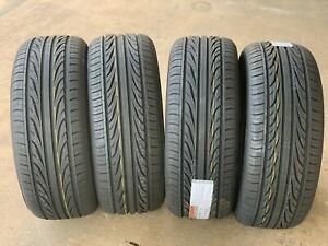 4 New 235 45 17 Thunderer Mach Iii All Season Performance Tires 60k Mile Warrant
