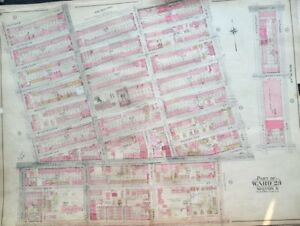1904 Bedford Stuy Brooklyn Ny St John S Hospital 13th Regiment Armory Atlas Map