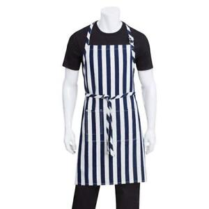 Chef Works Ab033 blk Black Chesapeake Bib Apron