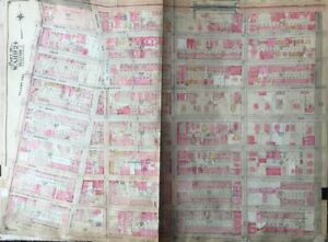 1904 Crown Heights Brooklyn Ny 23rd Regiment Armory P S 41 138 Plat Atlas Map