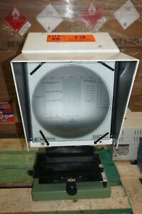 J e Baty Co Sx 765 10 Bench Type Optical Comparator Vertical Projector