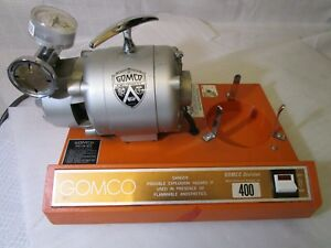 tested Good Gomco Model 400 Dental Medical Aspirator Vacuum Suction Pump Only