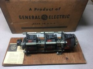 New Ge Volt pac 9t92a6 3 stage Variable Transformer In 240v 3ph Out 0 240 280v