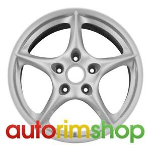 Porsche Boxster 2003 2004 18 Factory Oem Rear Wheel Rim