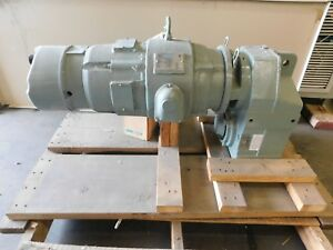 New Sterling 5 Hp Electric Motor 54 1 Ratio Reducer W Stearns Brake New
