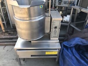Groen Tdb 7 20 Electric Steam Jacketed Tilt Kettle 20 Qt Capacity 230v 1phase
