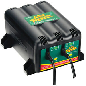 Deltran Battery Tender Plus 12v 2 Bank Battery Charger System 2 Bank Dl0165
