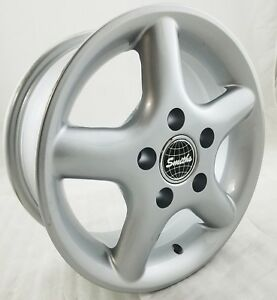 Set Of 4 Smith S Soft Wheels Rims 14 Inch 5x114 3 Offset 38mm Silver New