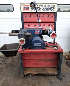 Really Nice Ammco 4000 Disc And Drum Brake Lathe With Bench And Tooling