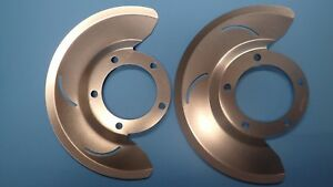 1976 1979 Ford Bronco And F150 4x4 Dana 44 Front Front Disc Brake Dust Shields