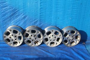 2000 Jeep Grand Cherokee Wj 4 0l Rwd 1 Alloy Rims Wheels Set 16 Inch