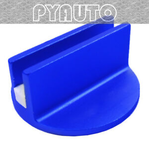 Superior Blue Slotted Magnetic Jack Pad Pinch Weld Frame Rail Adapter