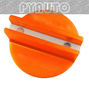 Superior Orange Slotted Magnetic Jack Pad Pinch Weld Frame Rail Adapter