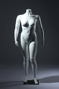 Abstract Female Mannequin Large Size Headless Style Made Of Fiberglass w1hw
