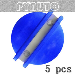 5 Sets Superior Blue Slotted Magnetic Jack Pad Pinch Weld Frame Rail Adapter