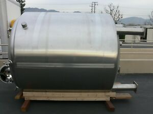 Dci 4000 Liter Stainless Steel Jacketed Reactor Rated 100 Psi Jacket 150 Psi