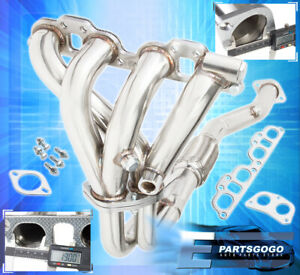 For 91 01 Nissan Sentra 200sx Infiniti G20 2 0 Stainless Racing Exhaust Header