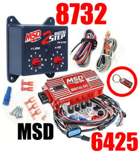 Msd Ignition 6425 Digital 6al Ignition Control With Rev Control With 8732 2 step