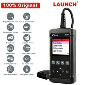 Launch X431 Cr5001 Obd2 Scanner Engine Code Reader Obdii Car Diagnostic Tool Us