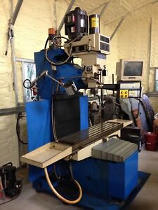 Revolution 3 Axis Cnc Bed Mill With Centroid Control Bedmill Milling Machine