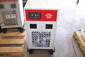 Keltec Krad 125 Refrigerated Air Dryer 125 Cfm Integrated Pre And Afterfilter