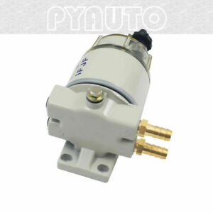 Py Diesel Fuel Filter Water Separator For R12t Marine Spin On Housing 120at