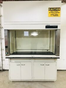 Labconco 60805 Protector Laboratory Hood Cabinet Fume Extractor Explosion Proof