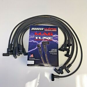 Hei Distributors Spark Plug Wires 8mm Moroso 90 Degree Sbc Over Covers