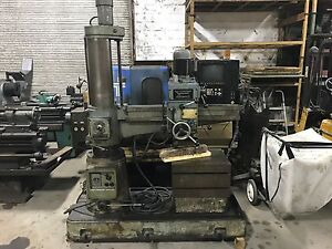 3 X 08 Alzmetall Model Ab3 r Radial Arm Drill