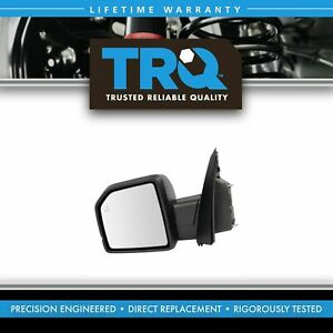 Mirror Power Heated Signal Blind Spot Textured Black Driver Left Lh For Ford New