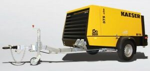 New Kaeser M114 Towable Diesel Air Compressor M114