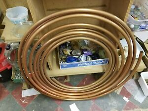 Type K Soft Copper Coil Water 7 8 Od 3 4 Id 60 Feet