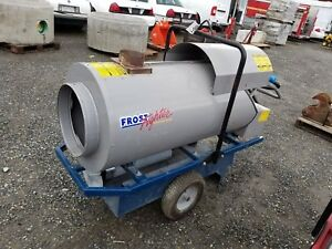 Ice Frost Fighter Idf 500 Hs Lp Ng Indirect Fired Heater Construction Heater