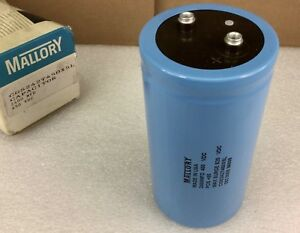 Mallory Cgs242t450x5l Capacitor 2400 Mfd 450 Vdc New In Box