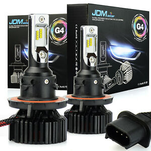 Jdm Astar G4 8000lm H13 9008 2x Led Car Headlight High Low Beam Bulb Xenon White