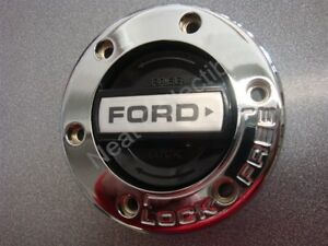 Nos Oem Ford Truck 4x4 Manual Locking Hub Outer Cap Black Center 6 Hole