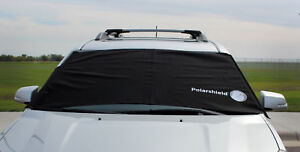 Delk Polarshield Winter Snow Car Wind Proof Windshield Cover W Security Panels