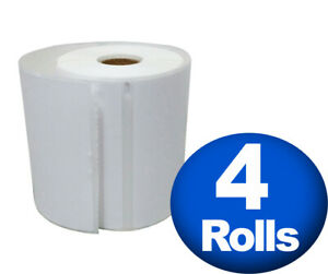 Dymo 4xl Direct Thermal Shipping Labels 4x6 4 Jumbo Rolls 1744907 Compatible