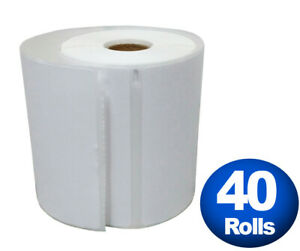 Dymo 4xl Direct Thermal Shipping Labels 4x6 40 Rolls 1744907 Compatible