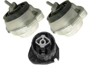 Bmw E53 V6 04 06 Engine Transmission Mount Kit 3 Pcs Support Damper Bush