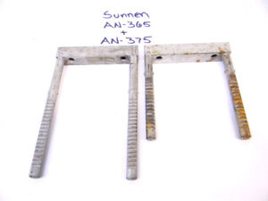 2pcs Used Sunnen Honing Master Holders An 365 An 375
