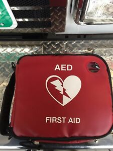 new Philips Heartstart Frx onsite Aed first Aid Combo Carry Case