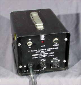 Pioneer Electric Ds 303 Stroboscope Power Supply