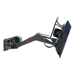Prowler Swing Arm Boom Mower Skid Steer Loader Attachment 14 To 20 Gpm Required