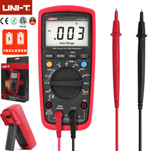 Uni t Ut139a True Rms Multimeter Digital Lcd Auto Rang Vfc Ac dc Voltage Tester